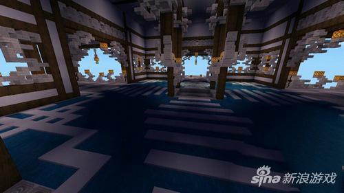 《迷你世界》玩古建筑摘星楼家作品欣赏
