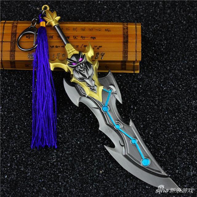 李白千年之狐兵器模型