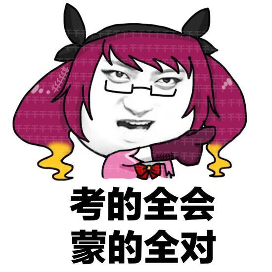 王者荣耀斗图表情包第153期 高考顺利表情包