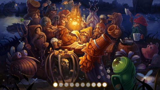《胡须勇士》游戏截图