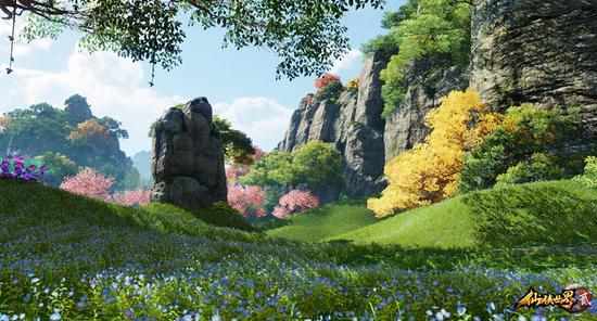 www.hg756.com点击进入官网如梦似幻《仙侠世界2》打造虚拟国家公园_网络游戏-官方