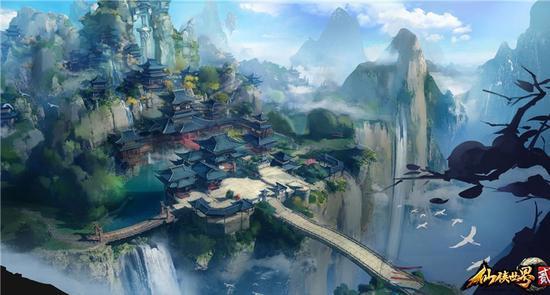 金牌写手无罪坐镇 仙侠世界2显现宏大国风世界观