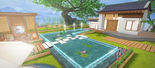 开放庭院、多层房屋,家园风格自由打造
