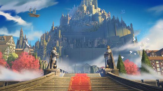 图4:走入《格罗亚传奇》的魔幻世界