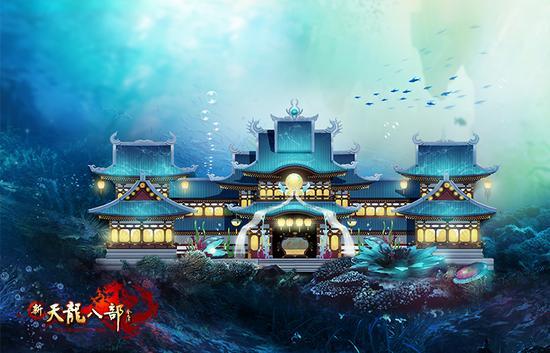 图4:海底风格庄园华丽的寝室