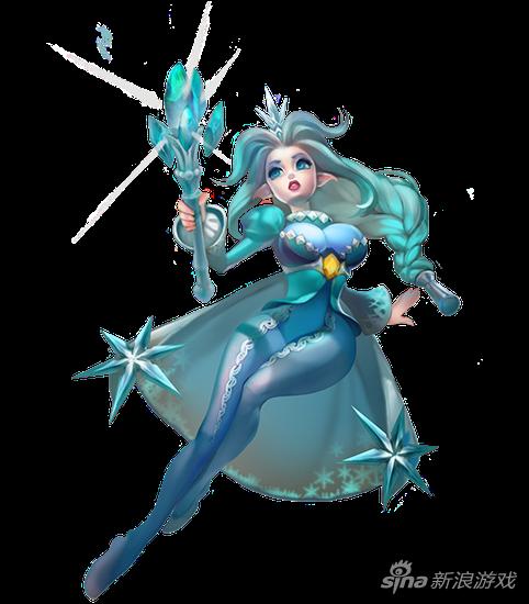 英雄冰雪女王-阿丝多拉