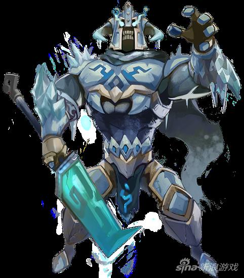 王国纪元英雄寒冰领主-沙勒姆