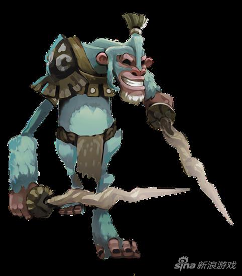 王国纪元魔物1阶契约书(下): 雪猿