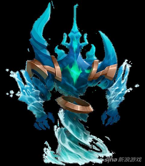 王国纪元魔物1阶契约书(下): 水精灵