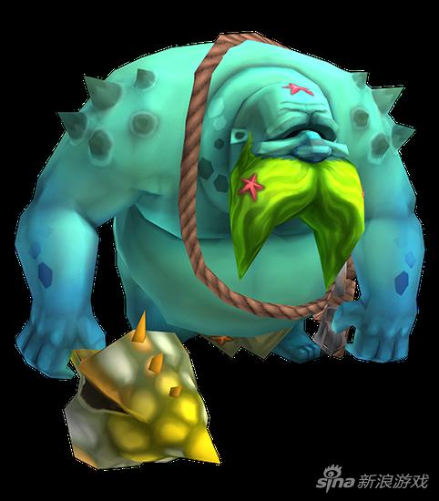王国纪元魔物4阶契约书: 潮汐巨人