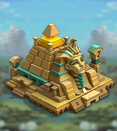 《王国纪元》城堡皮肤法老迷城属性介绍