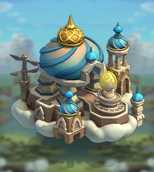 《王国纪元》城堡皮肤天空之城属性介绍