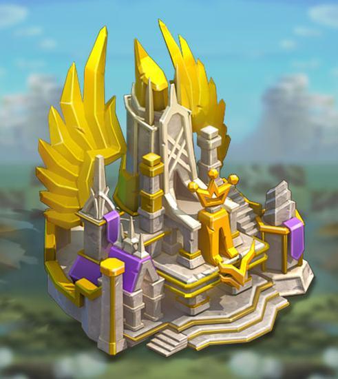 《王国纪元》城堡皮肤辉煌圣域属性介绍