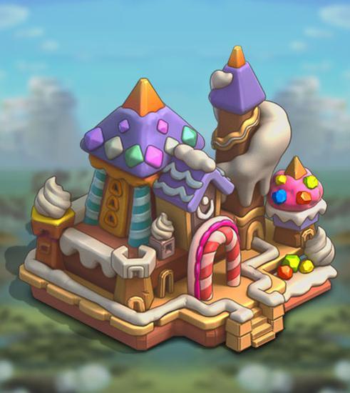 《王国纪元》城堡皮肤甜蜜家园属性介绍