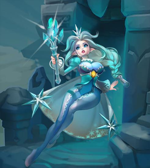 冰雪女王-阿丝多拉