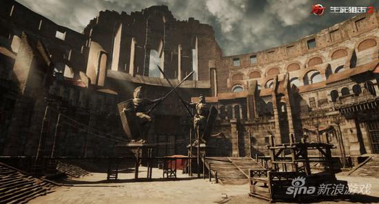《生死狙击2》中的角斗场