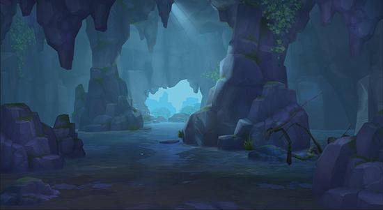 《永远的7日之都》新场景——东方古街·后山山洞