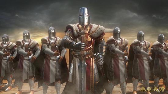 中世纪纷争在《泰亚史诗》中被完美呈现