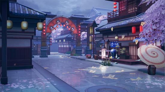 《永远的7日之都》新场景——东方古街·万葬亭