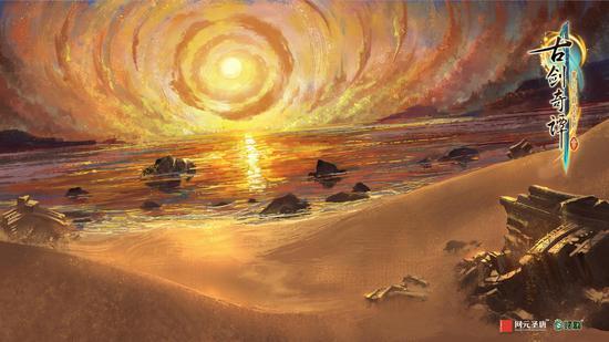 遥夜湾场景概念图之一