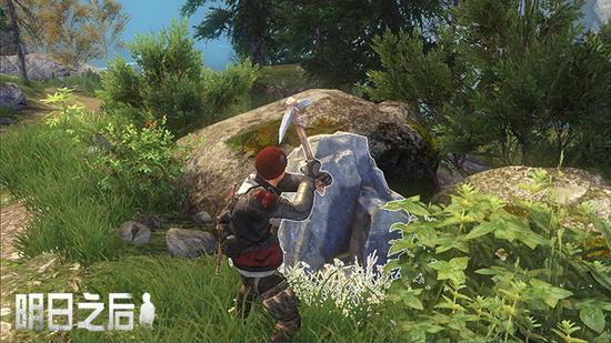 采石收集物资
