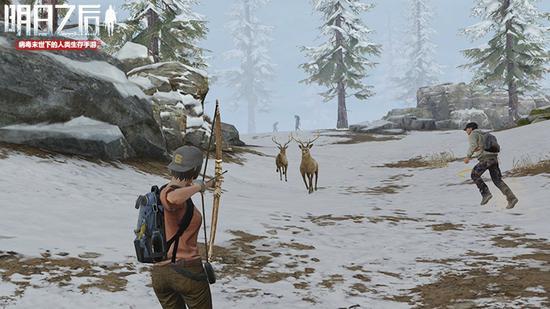 狩猎获得肉条