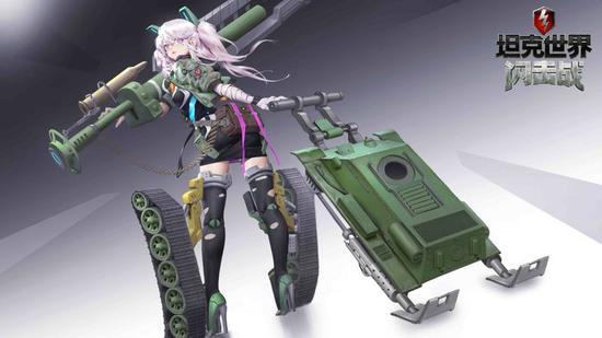 COS原型——闪击战坦克娘漫画T-34
