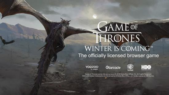《Game of Thrones Winter is Coming》宣传海报。图片来源:BusinessWire