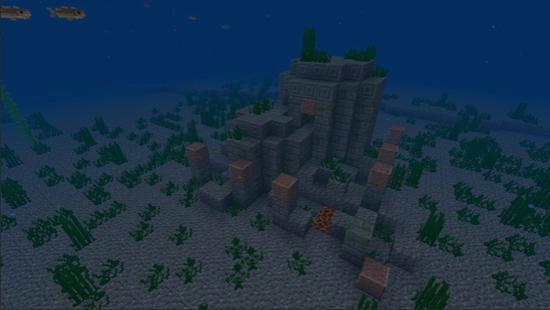 全新海底遗迹《我的世界》水下世界等你探索