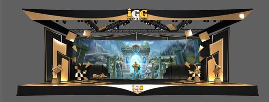 2019 ChinaJoy IGG 展区主舞台