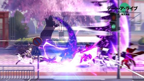 《约战:精灵再临》十香战斗画面