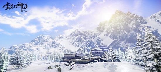 西王母所在的昆仑雪山