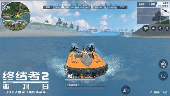 气垫船可实现两栖登陆作战