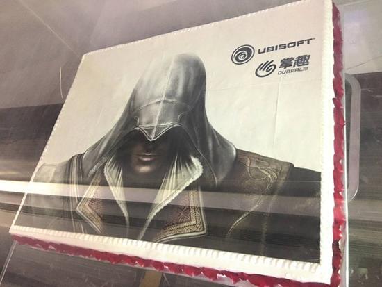 掌趣与育碧联合推出的《刺客信条》手游海报,来自掌趣官网