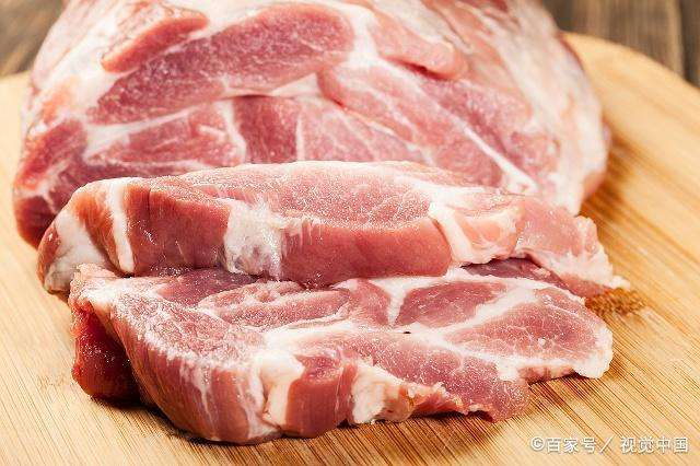 合肥猪肉价格开始回落