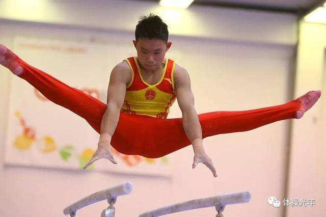 安徽省体操两小将 捷克赛场披金挂银