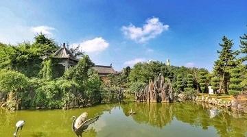 皖北也有锦绣园林 梦里水乡