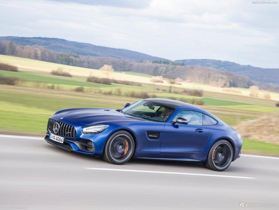 蓝色公路幽灵 Mercedes-Benz AMG GT C