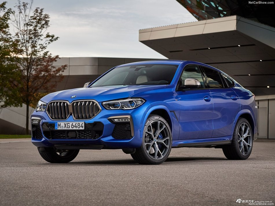 旗舰轿跑SUV BMW X6 M50i