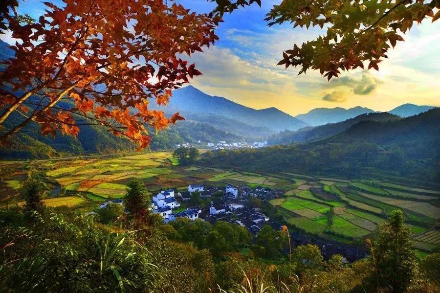 黟县 在中国画里乡村感受古黟风韵