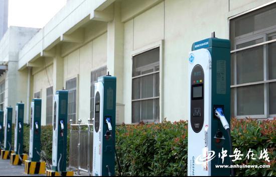 始信路智能电动汽车充电站