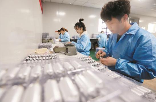 锂电池企业 生产忙