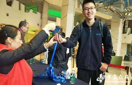 马晓阳介入第34届中国数学奥林匹克角逐。