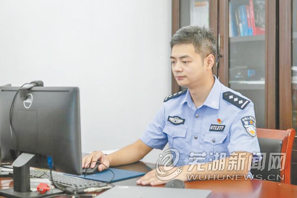刘东在工作中