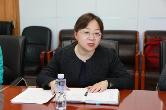 媒体采访肥西经开区党工委委员张琳