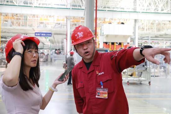 媒体采访安徽江淮汽车集团控股有限公司姜明海