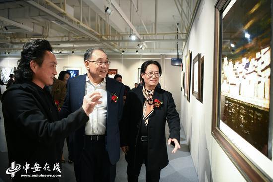 漆源——安徽漆画学术邀请展开幕