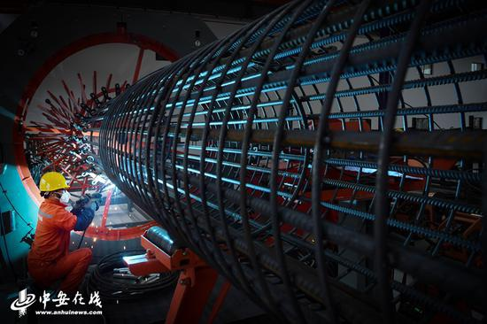 钢筋智造基地地处合肥市庐阳工业园区拥有数控化的钢筋加工设备57台