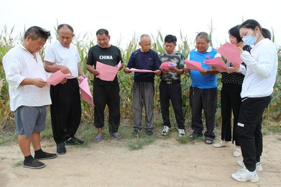 濉溪县孙疃镇:我为群众办实事,农技服务到田间