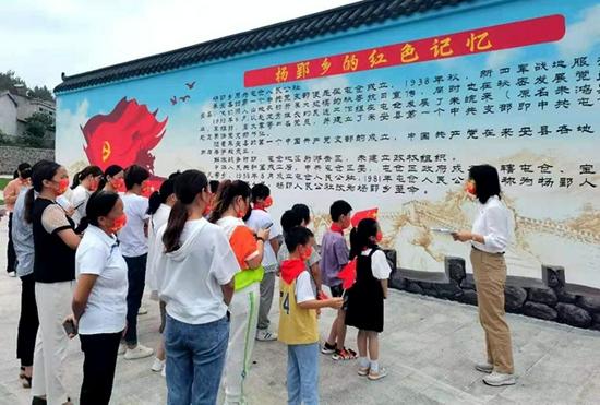 来安县杨郢乡:暑假活动寓教于乐